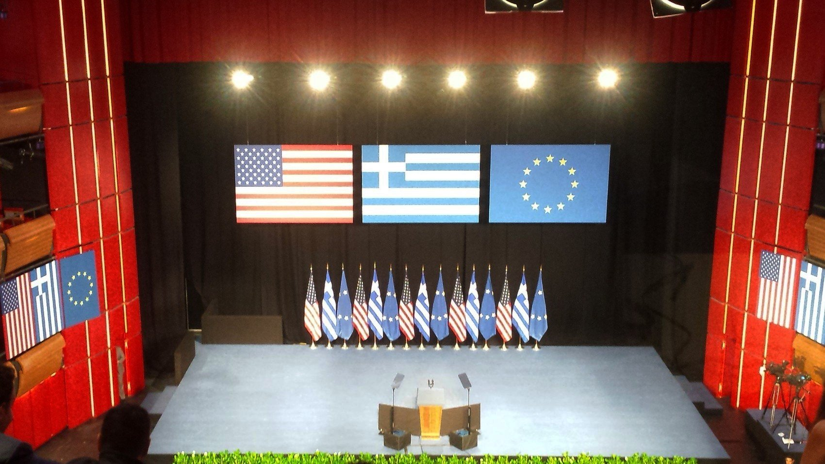 Obama, επίσκεψη, Ίδρυμα Σταύρος Νιάρχος